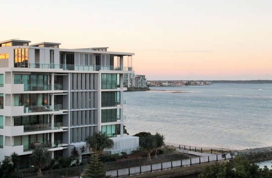 Allisee Apartments : View from apartment towards the Broadwater