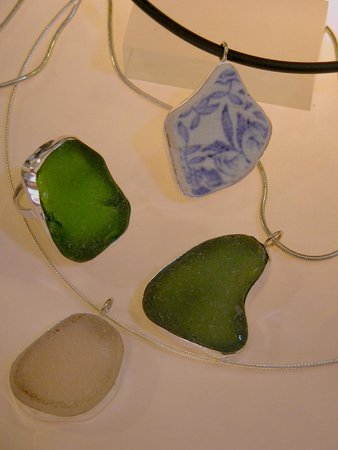 Skerries, Irlanda: A selection of Sea Glass