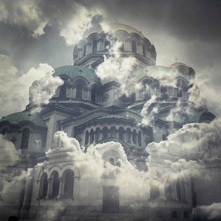 Alexander-Newski-Gedächtniskirche: Double exposition