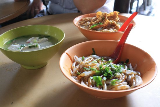 Be Tourist Malaysia Heritage: Chinese market meal (bland)