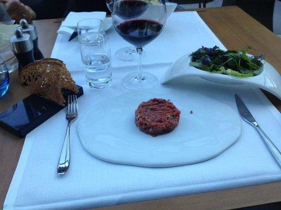 Serre Restaurant: Steak Tartar