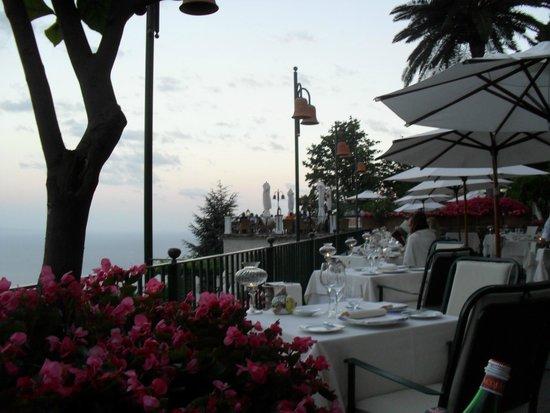 Rossellinis Restaurant: la splendida terrazza