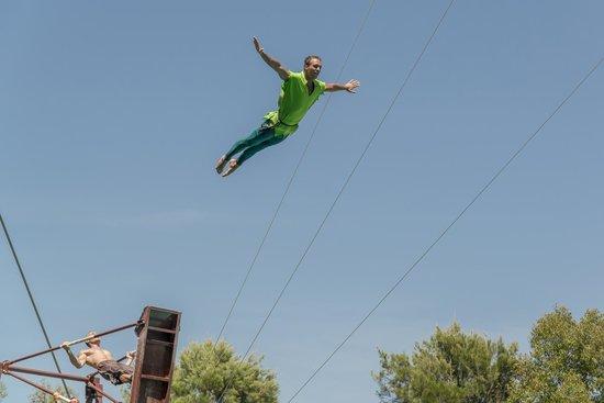 Torvaianica, Włochy: Il Galeone dei Tuffatori - Spettacolo di Peter Pan