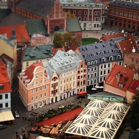 View of Riga from St Peter's Church Tower : Потрясающие виды!