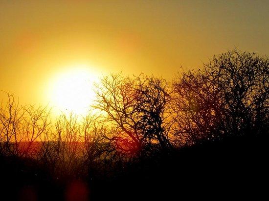 Springbok Lodge: stunning sunset