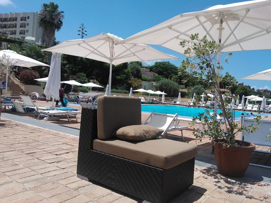 Domina Zagarella Sicily : Pool area, salty seawater
