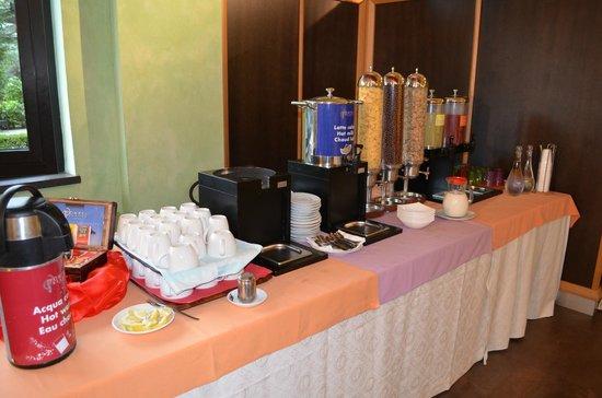 Pompei Resort: breakfast