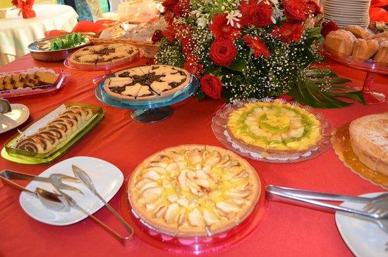 Pompei Resort: Sweet breakfast