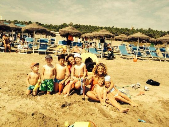 Family Hotel Meridiana: Miniclub in spiaggia