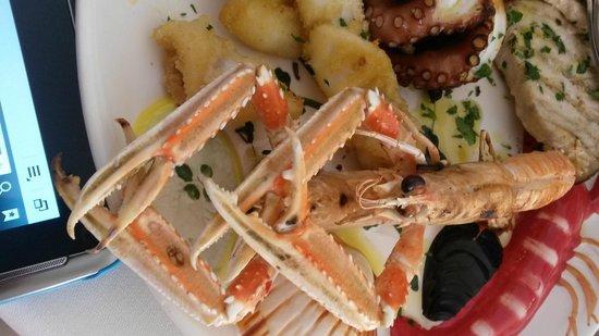ristorante Oltremare: grigliata di pesce