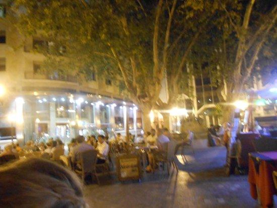 Ayre Hotel Astoria Palace : Nice square