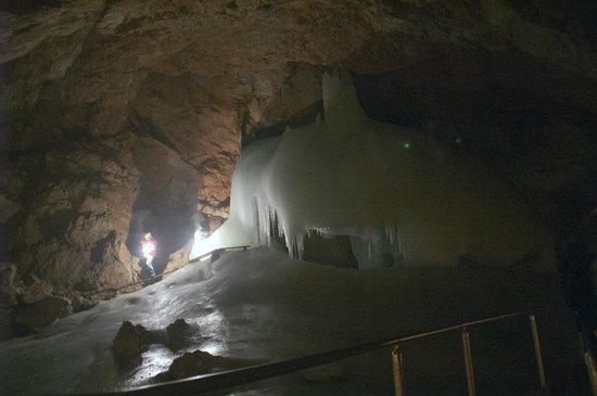 Eisriesenwelt Ice Cave: The Elephant