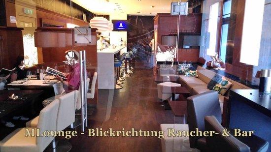 M Lounge: Getrennt vom Barbereich