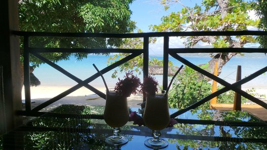Tsara Komba Luxury Beach Forest Lodge: View from room terrace