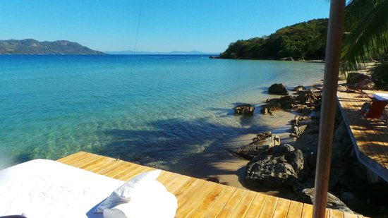 Tsara Komba Lodge : View from the sun deck