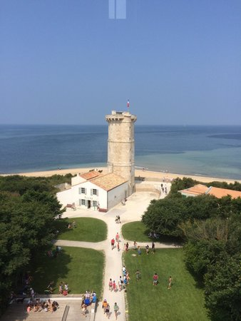 Phare des Baleines : View from tower