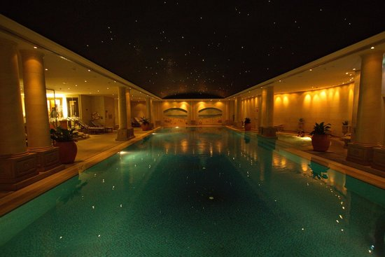 Beautiful Undeground Pool And Spa Picture Of The Langham