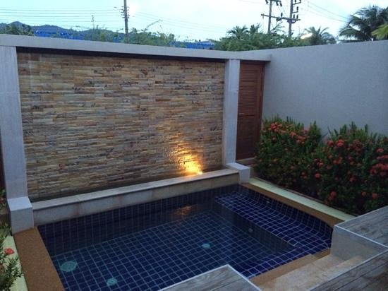 The Residence Resort and Spa Retreat: Private Pool