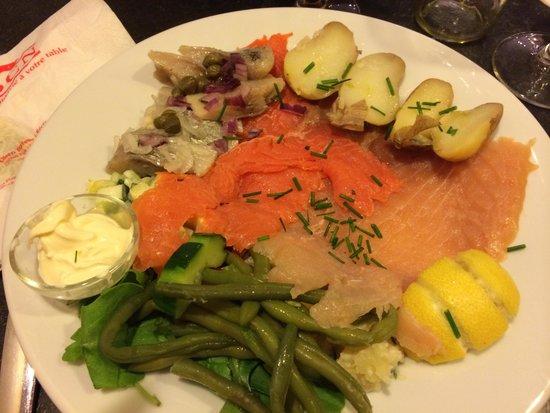 Olsen Butik : Hareng, saumon et truite! Un délice!