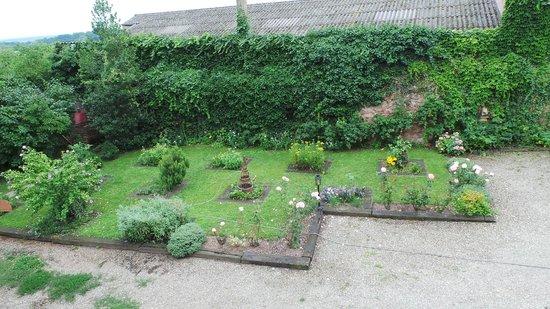 Am Lindeplatzel : Jardin où sont cultivés les plantes aromatiques utilisées en cuisine