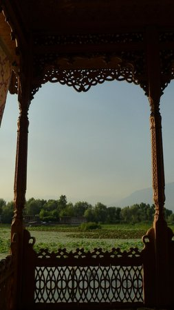 Royal Group of Houseboats: view from verandah
