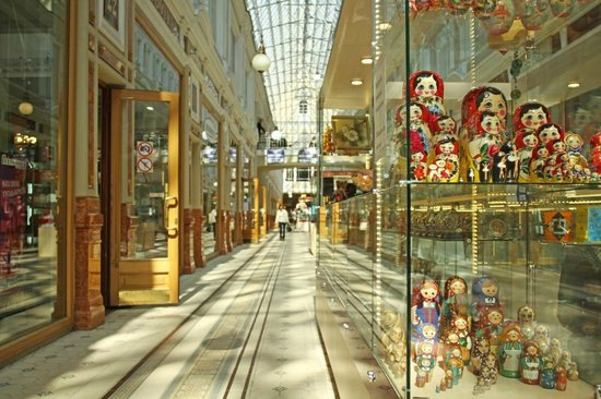 Passage Shopping Arcade : Галерея 1-го этажа
