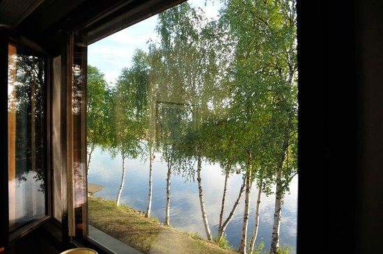 Hotel Ivalo: The river view