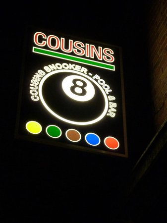 ‪Cousins Snooker & Pool Club‬