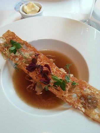 Restaurant Le Faubourg: Soup