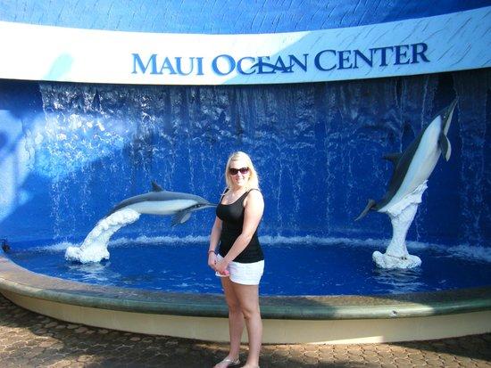 Maui Ocean Center: Entrance