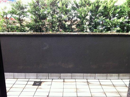 Silken Indautxu Hotel: humedades en la terraza