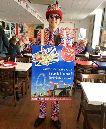 Great British Fish and Chips: Our Union Jack Man