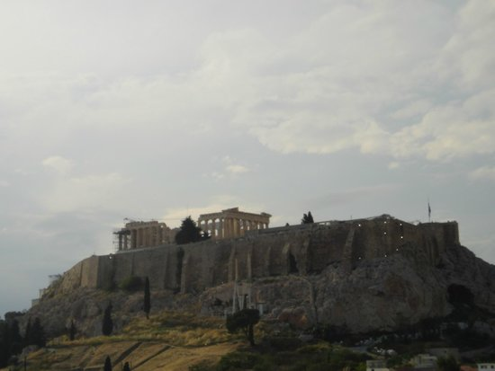 The Athens Gate Hotel: view from the roof top bar