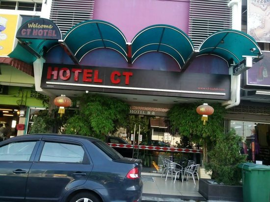 Ct Hotel Front View Of