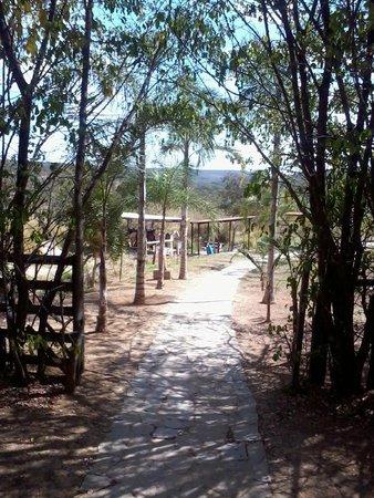 Hotel Fazenda Aguas Emendadas: Vista da cavalariça