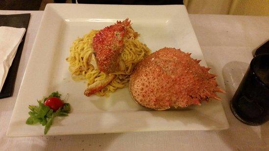 Ristorante Pizzeria Belgau: Tagliolini alla granseola