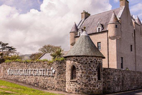 Ballygally Castle: Castle