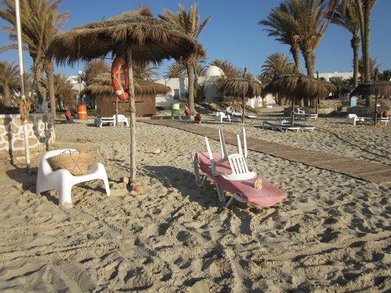 El Mouradi Djerba Menzel: mon petit coin à moi! Magnifique avec les palmiers on se serait cru aux Caraîbes