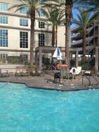 Hilton Grand Vacations on Paradise (Convention Center): New lifeguard stand.