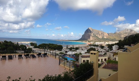 Panoramic Hotel: View from our balcony