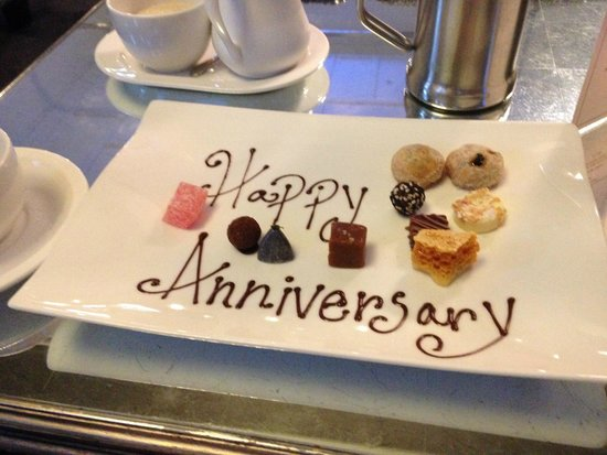 Northcote Restaurant: Our anniversary petits fours