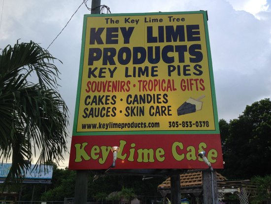 The Key Lime Cafe: CANT MISS US . MM 95 OCEAN SIDE