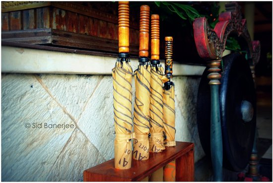Kuta Seaview Boutique Resort & Spa : Handy Umbrellas