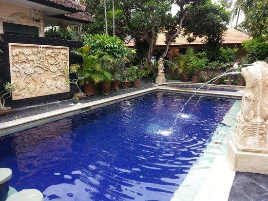 Yulia Beach Inn: pool at yulia