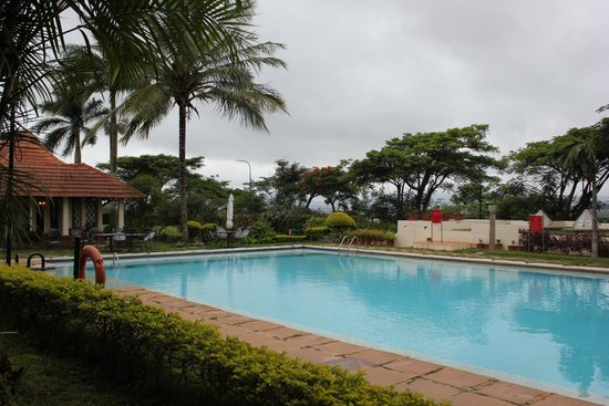 The Gateway Hotel Chikmagalur: Pool view from room
