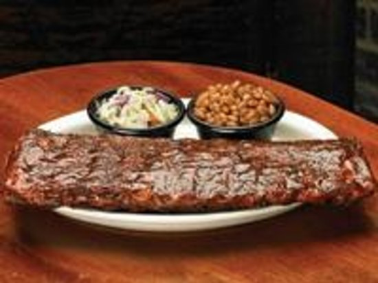 Sticky Fingers: .   Full Slab of St. Louis- Style Hickory Smoked Award Winning Ribs