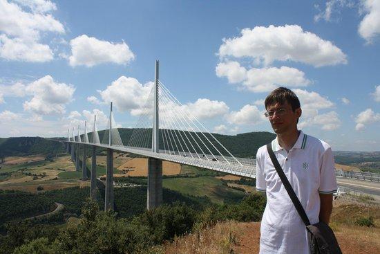Viaduc de Millau : Фантастический вид!