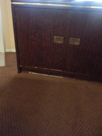 Habitat Suites Hotel: LR cabinet