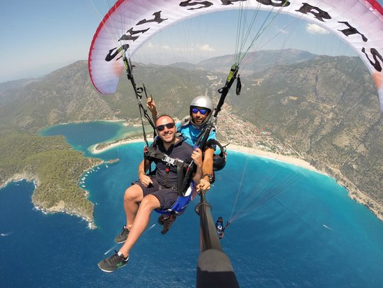 Sky Sports paragliding: Paragliding with sky sports