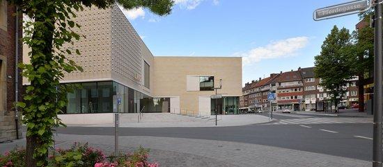 LWL-Museum für Kunst und Kultur: Blick auf den Neubau von der Pferdegasse. Foto: LWL / EDK